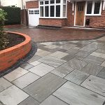 block paving with patio block Hertford