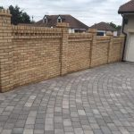grey block paving in Hertford