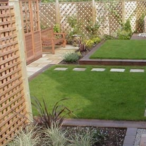 Garden Landscaping in Cole Green