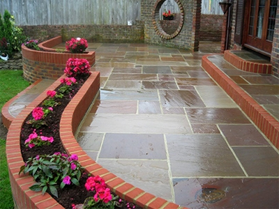 Newgate Street patio installer
