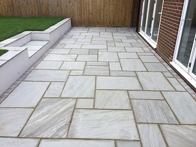 Patio installers in Aston End