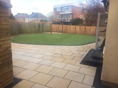 Waltham Abbey patios