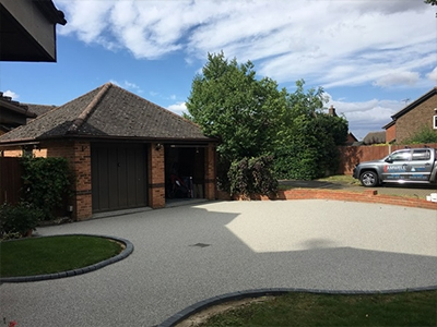 Resin Bound Driveway installers in Aston End