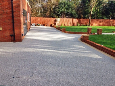 Driveway Installers Resin Bond Sheering