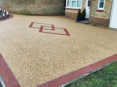 Resin Bond Driveways in Sheering