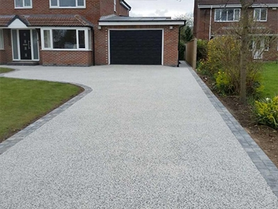 Dane End Resin Bond Driveway Installers