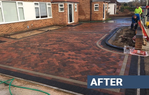 Enfield Block Paving Driveways Fitter