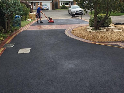 tarmac laying services in Aston End